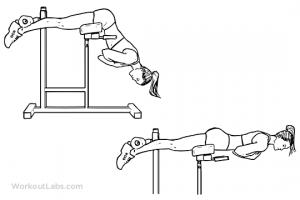 Εκτάσεις πλάτης - ασκήσεις για πλάτη στο σπίτι