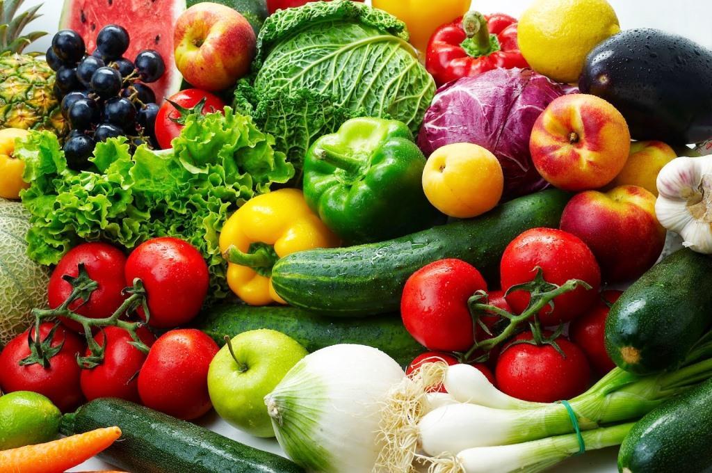 Δίαιτα με φρούτα και λαχανικά