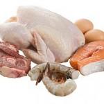ψάρια πουλερικά αυγά